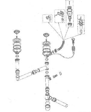 Zestaw przelewowo-odpływowy Franke 112.0051.719 do komór z korkiem automatycznym