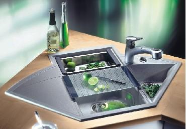 Deska kuchenna Blanco 215719 szklana do Axia