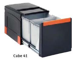 Selektor odpadków Franke Cube 41 - 2 pojemniki