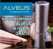 Zlewozmywaki ALVEUS z młynkiem GRATIS!